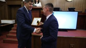 Министр здравоохранения РК Елжан Биртанов поздравил Лучших в системе здравоохранения