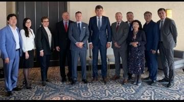 Министр здравоохранения РК встретился с представителями Американской кардиологической ассоциации